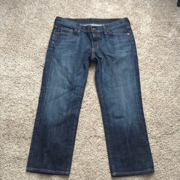 Citizens Of Humanity Denim - Citizens of Humanity crop or skinny jean